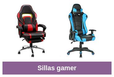 sillas gamer