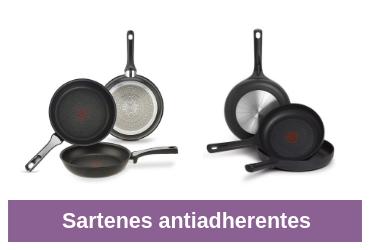 comparativa de sartenes antiadherentes