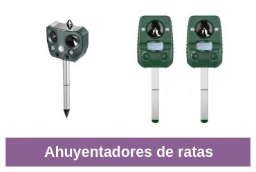 comparativa para ahuyentar ratas