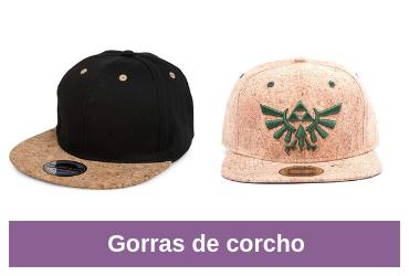 comparativa de gorras de corcho