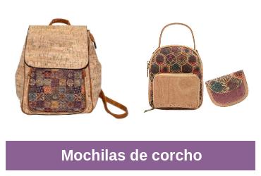 comparativa de mochila de corcho