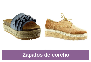 comparativa zapatos de corcho