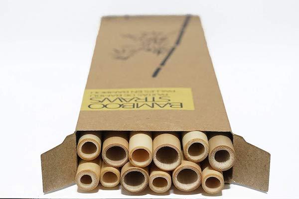 mejores pajitas de bambú