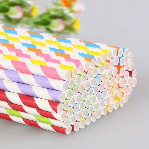 las mejores pajitas de papel