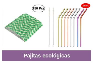 pajitas ecológicas