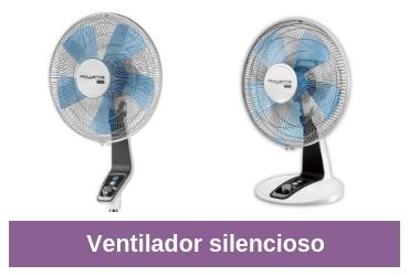 comparativa de ventiladores silenciosos