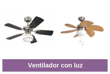 mejores ventiladores con luz