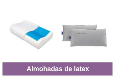 comparativa almohadas en latex