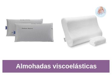 comparativa de almohada viscoelástica