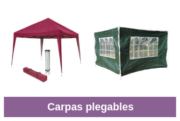 comparativa carpa plegable