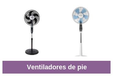 comparativa ventiladores de pie