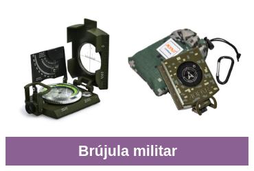 comparativa de brújula militar