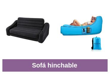 comprar sofás hinchables