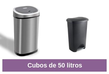 cubos de 50 litros