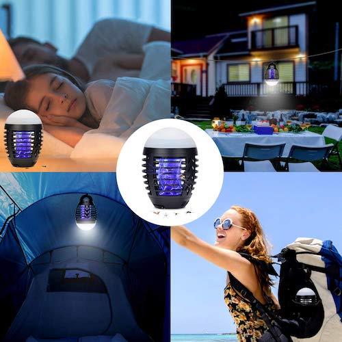 mejor lámpara antimosquitos