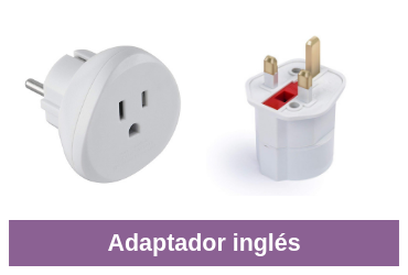 adaptador inglés