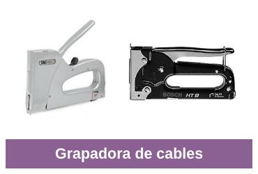 grapadora de cables