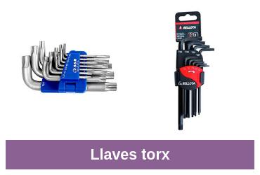 llaves torx