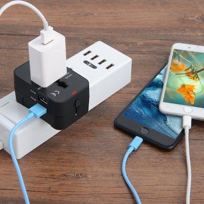 mejor adaptador de corriente