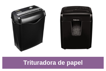 trituradora de papel