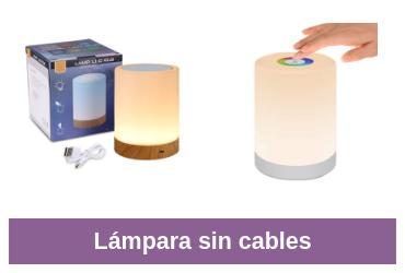 mejor lámpara sin cables