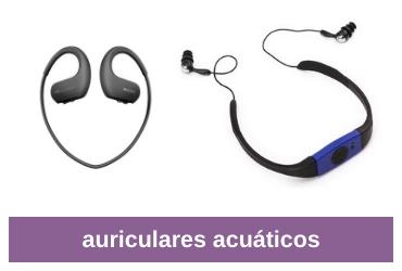mejores auriculares acuáticos