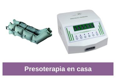 máquina de presoterapia en casa